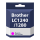 Brother LC1240/1280 19ml Magenta Compatible Ink Cartridge