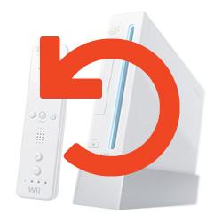 Nintendo Wii System Restore