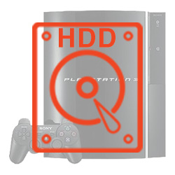 Sony Playstation 3 Replacement Hard Drive