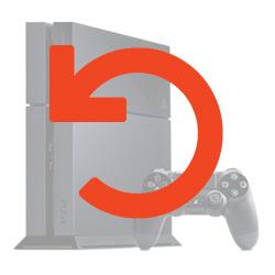 Sony Playstation 4 System Restore