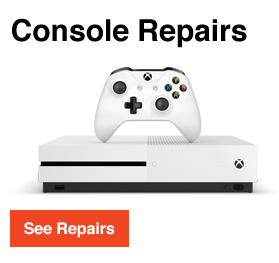 Games console repairs at MaxBurns Dublin